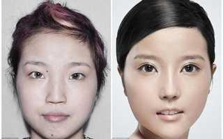 Три китаянки после пластики. Китаянки до и после пластики. Близняшки из Китая