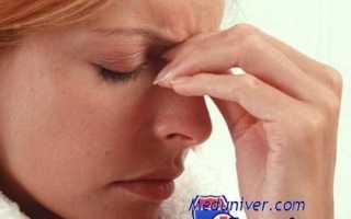 Почему больно сморкаться. Синусит (гайморит). Ринит различной формы