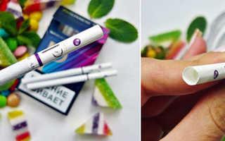 Сигареты esse с кнопкой. Чем вредны сигареты с капсулой? кратный шанс развития рака